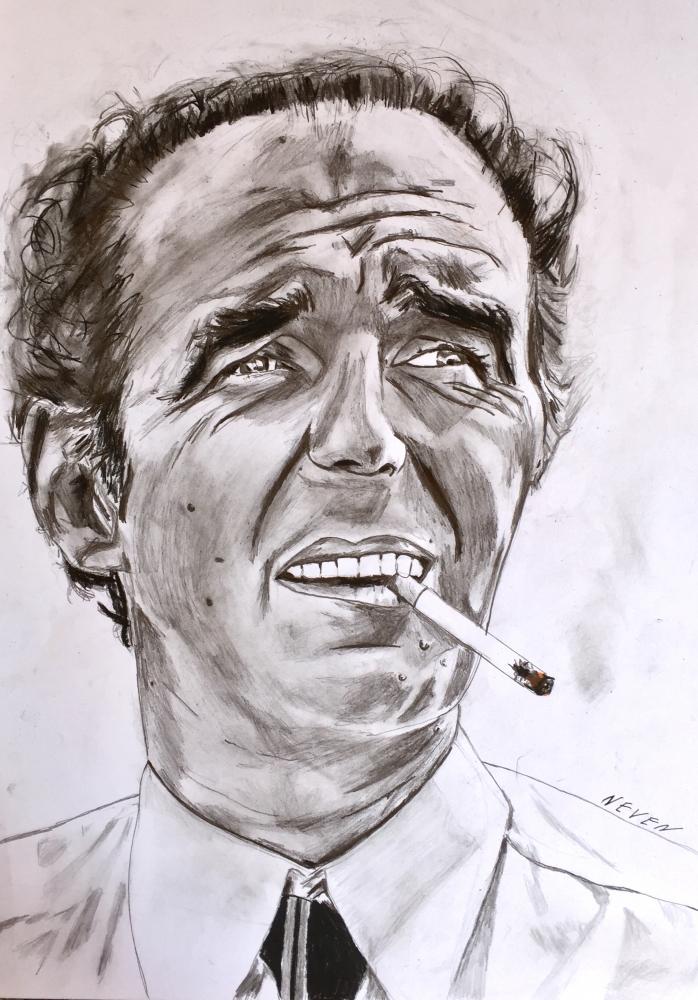 Michel Piccoli por Neven